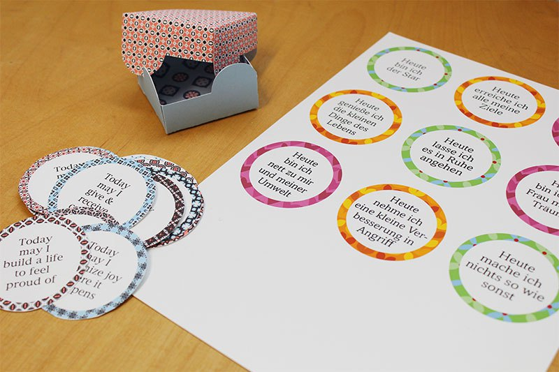 Affirmationskarten affirmation cards