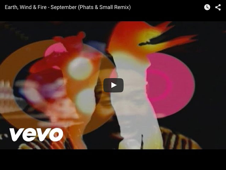 Earth, Wind & Fire - September auf youtube