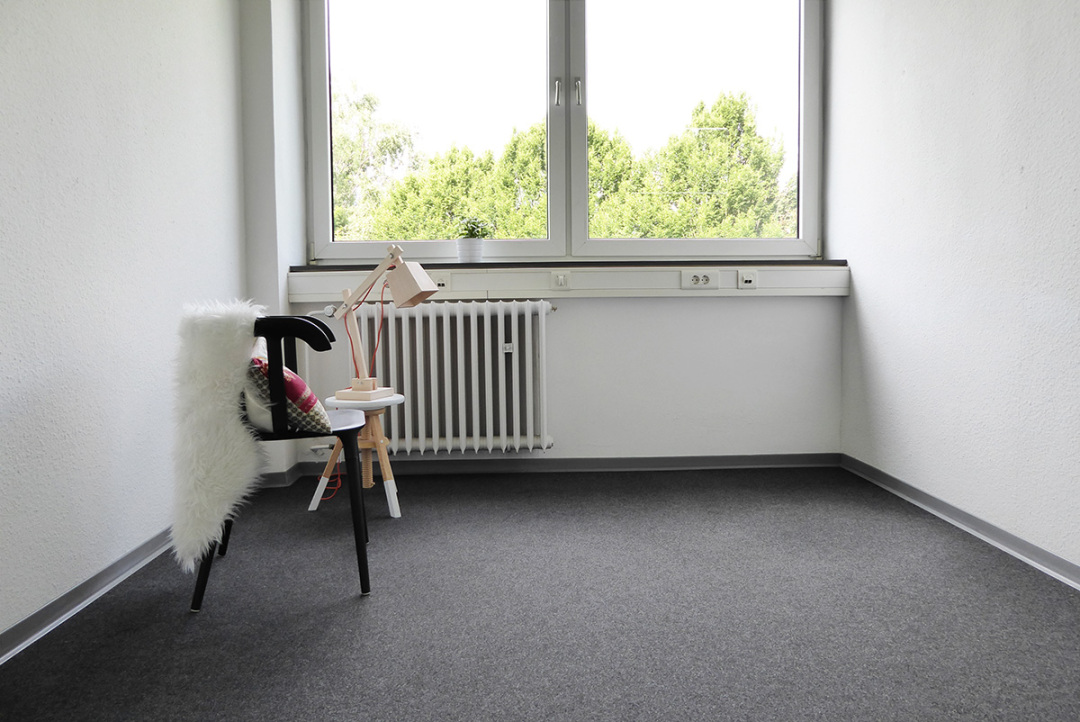 Innenansicht Reklamebüro Dortmund