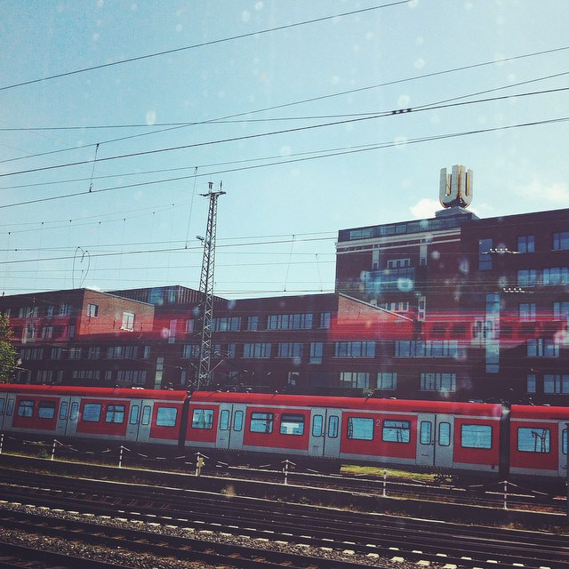 Foto aus dem Instagram Feed von Anke Hedfeld, Dortmund Hauptbahnhof mit Dortmunder U