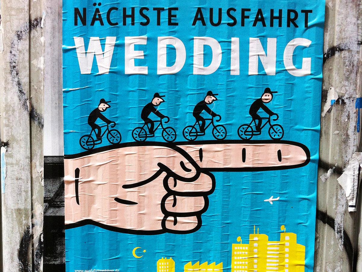 Nächste Ausfahrt Wedding