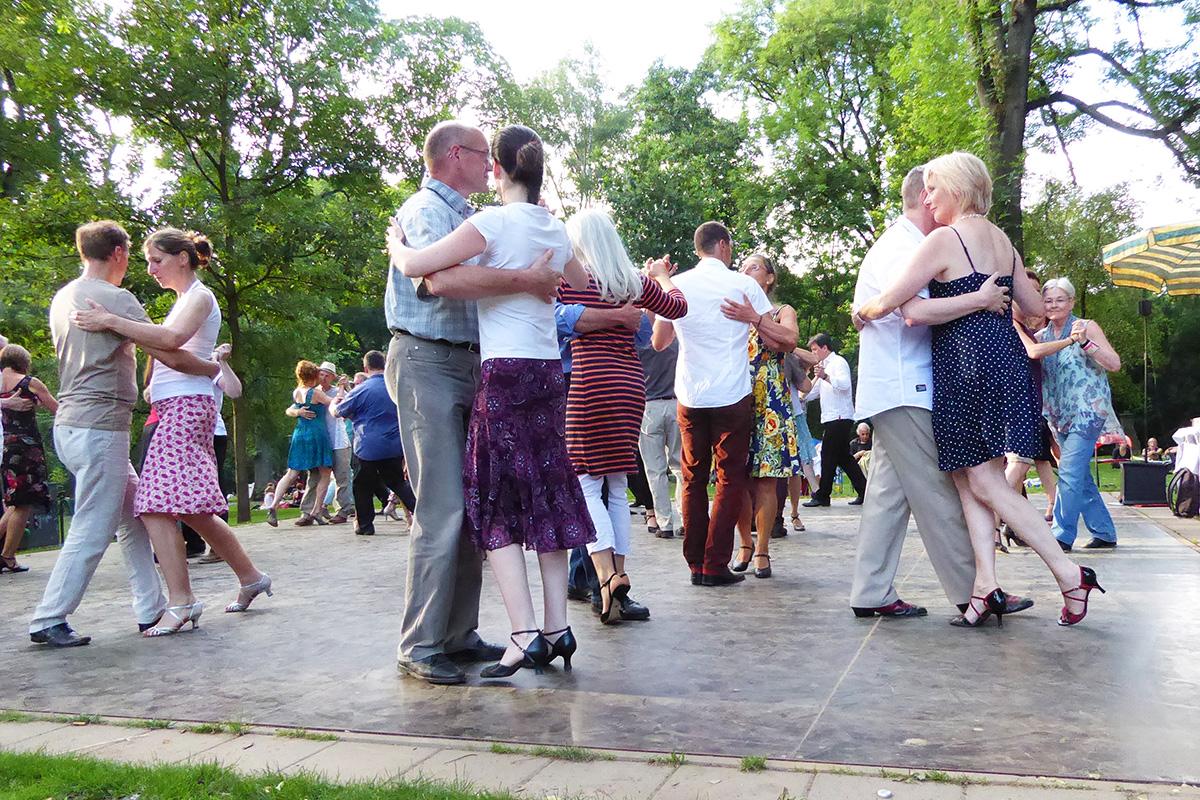 Salsa tanzen im Westpark Dortmund