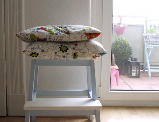 IKEA Bekväm mit Anstrich