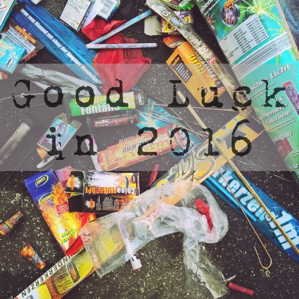 Good Luck in 2016