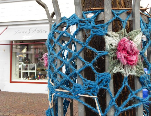 Guerilla Crocheting in Fulda