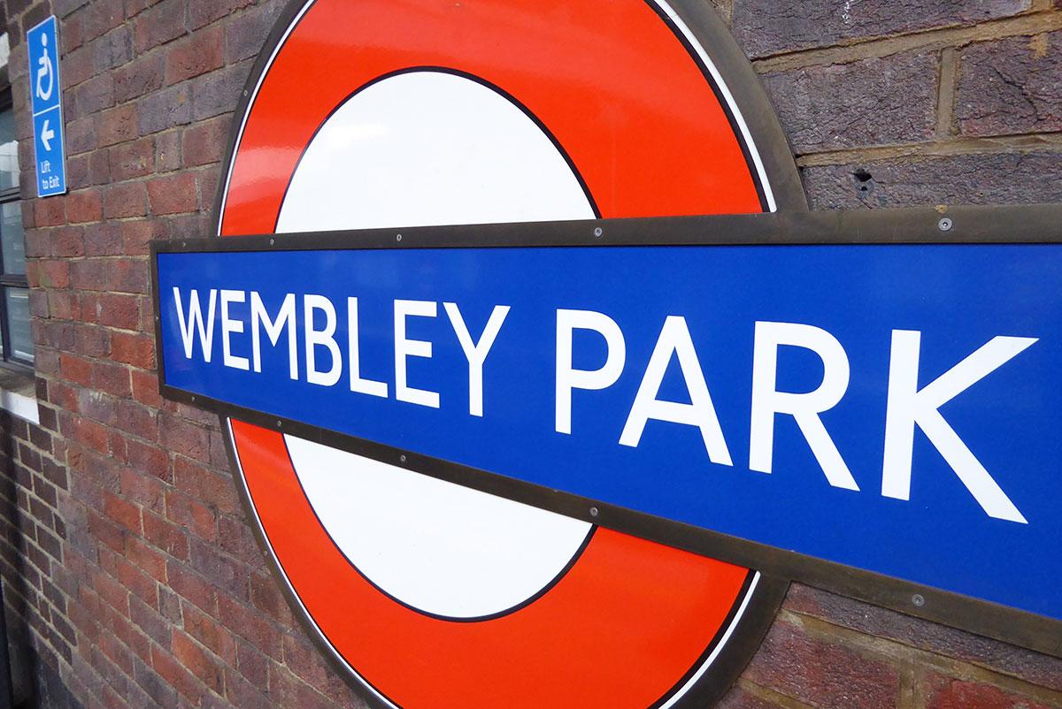 London Underground Wembley Park