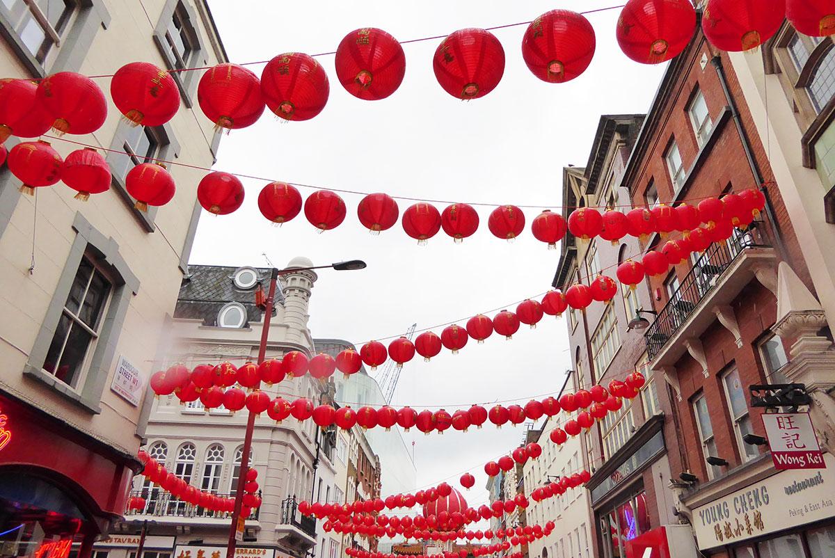 London Soho China Town