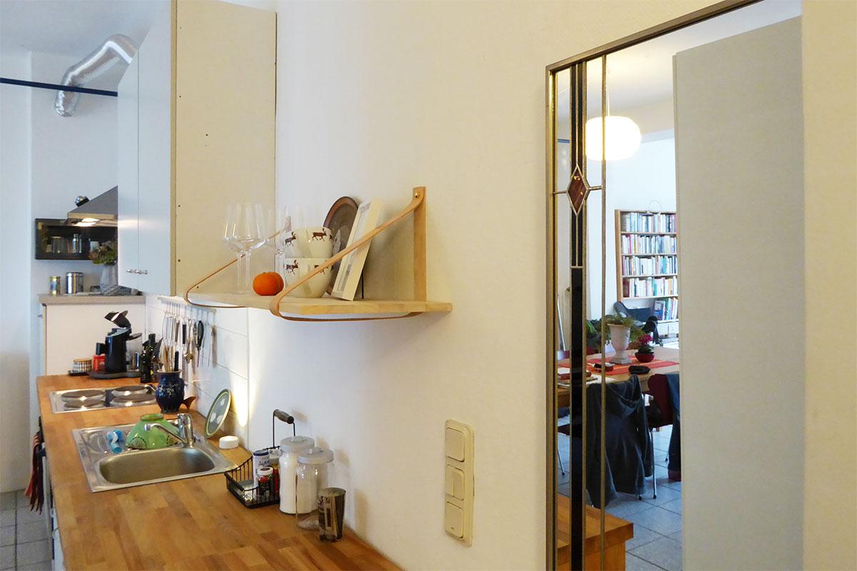 Küche mit Regal von Car-Möbel