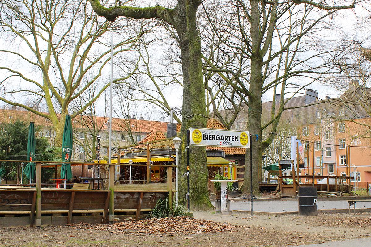 Biergarten im Westpark Dortmund