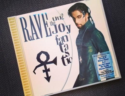 CD-Cover Prince Rave Un2 The Joy Fantastic