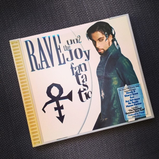 CD-Cover Prince Rave Un2 The Joy Fantastic