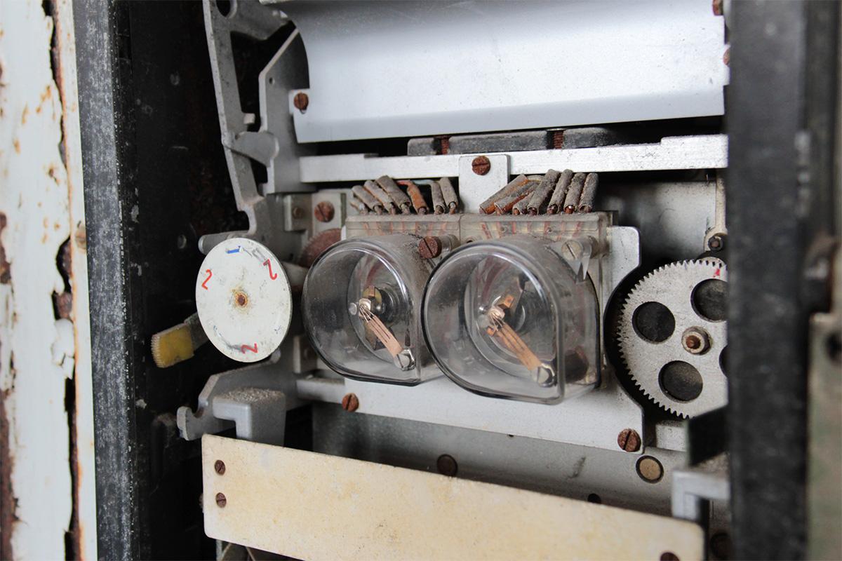 Maschinendetail in der Maschinenhalle der Kokerei Hansa, Dortmund