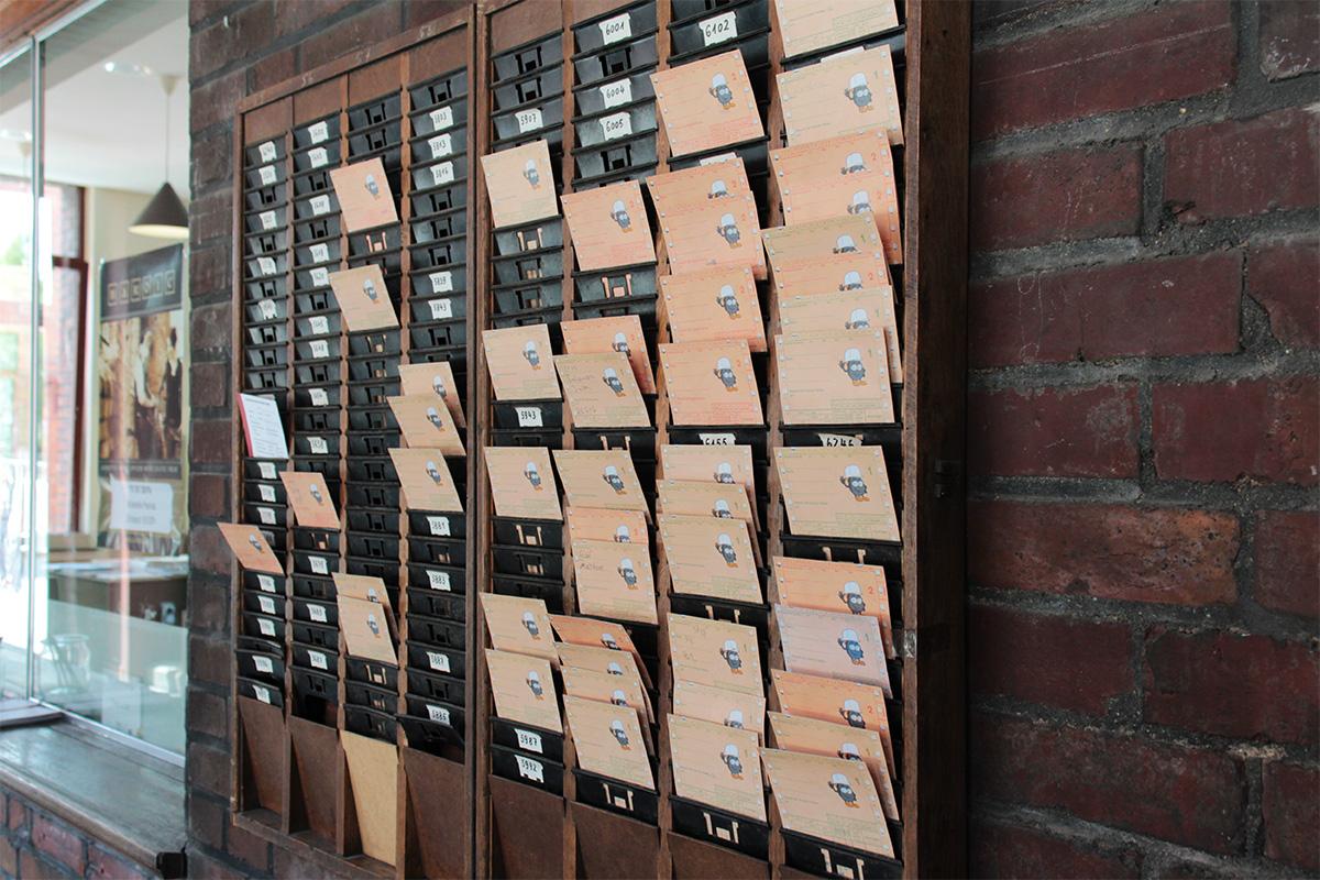 Alte Stechkarten Kokerei Hansa, Dortmund