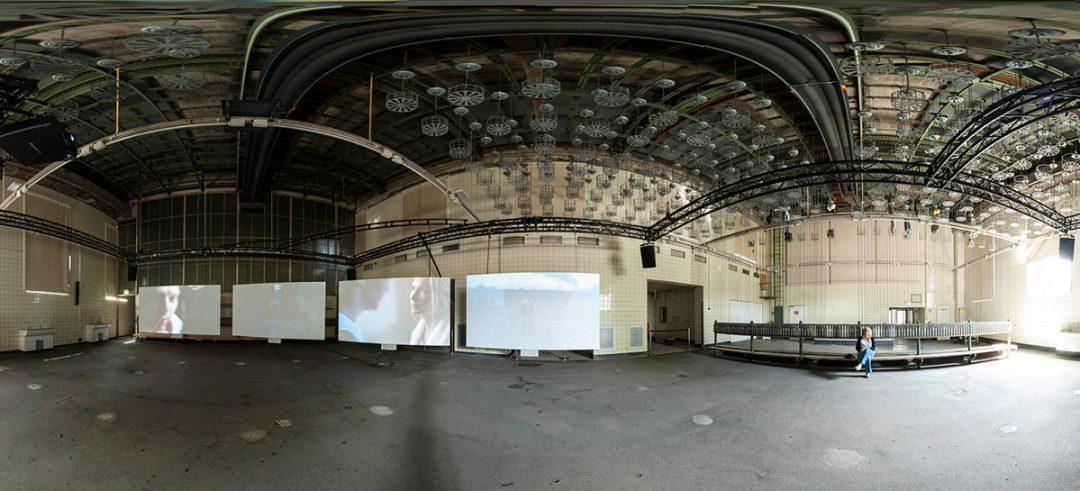Panoramafotografie Kokerei Hansa Dirk Friedrich, Essen