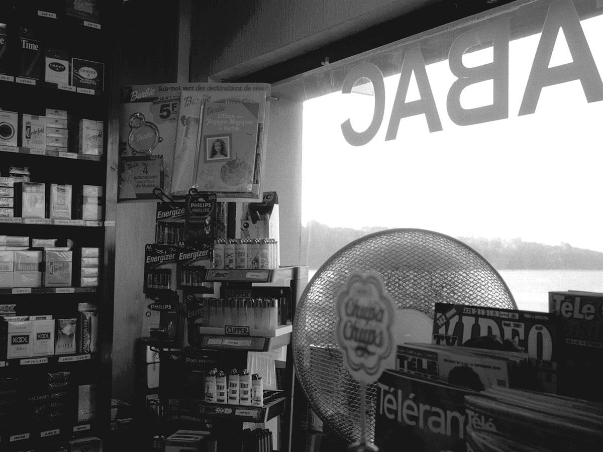 Blick in einen Kiosk