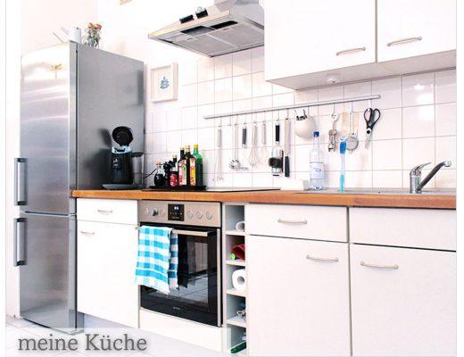 Bild einer Einbauküche mit Kühlkombination _ Anke Hedfeld_Different affairs