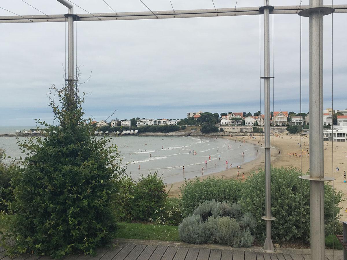 Ein Strand an der französischen Atlantikküste
