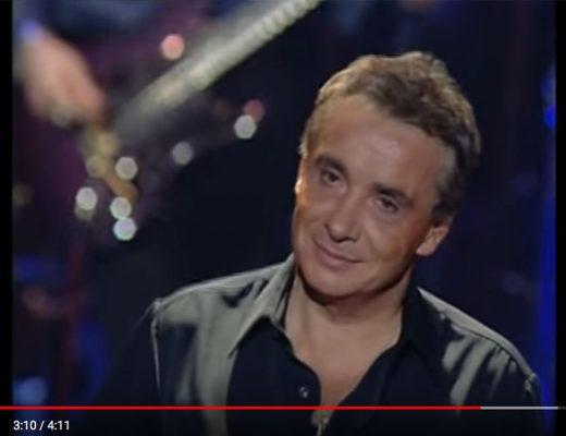 """Michel Sardou (""""Chantant"""") auf Youtube"""