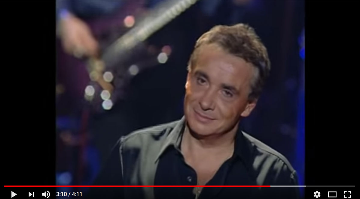 "Michel Sardou (""Chantant"") auf Youtube"
