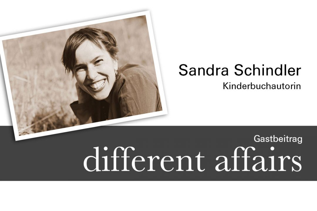 Grafik Gastbeitrag auf different-affairs Sandra Schindler Kinderbuchautorin