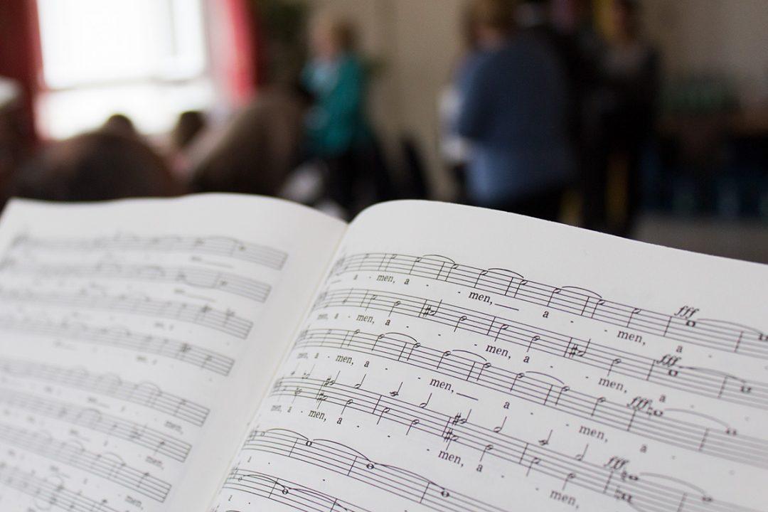 "Ausschnitt Noten Rossine ""Petite Messe Solenelle"""