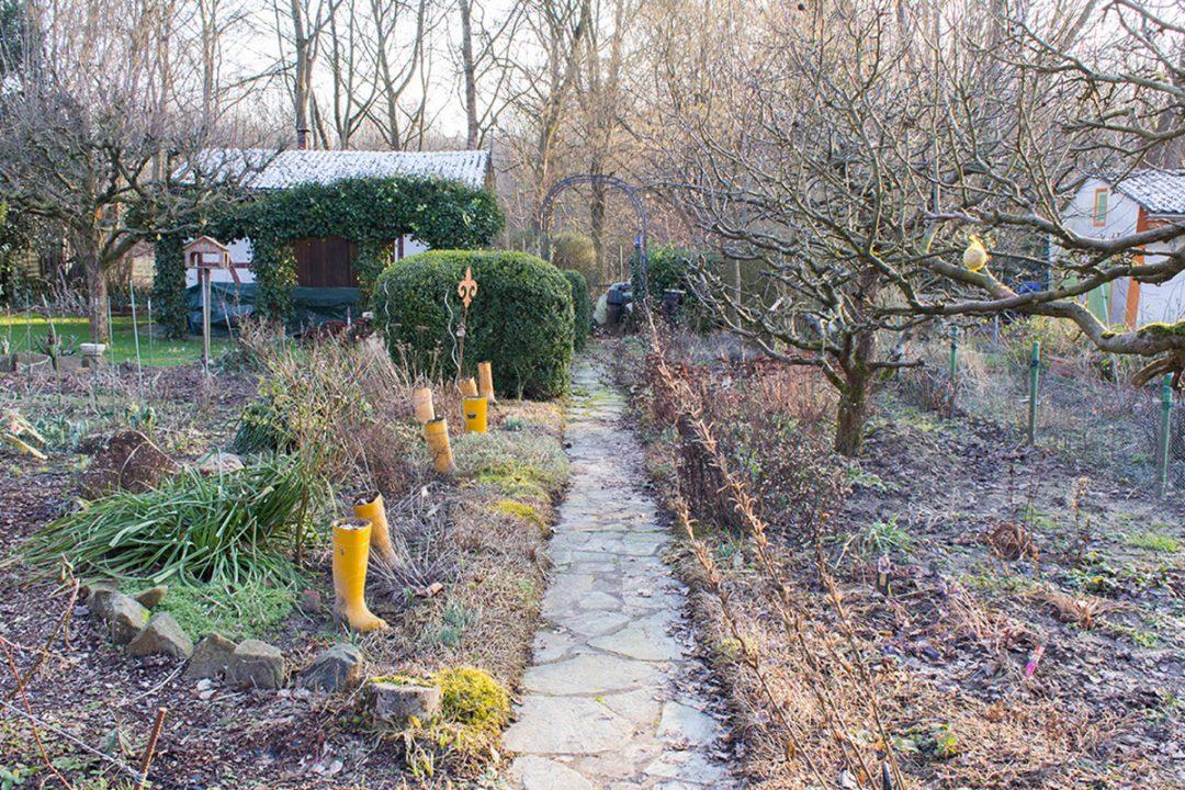 Ein Schrebergarten im Ruhrgebiet