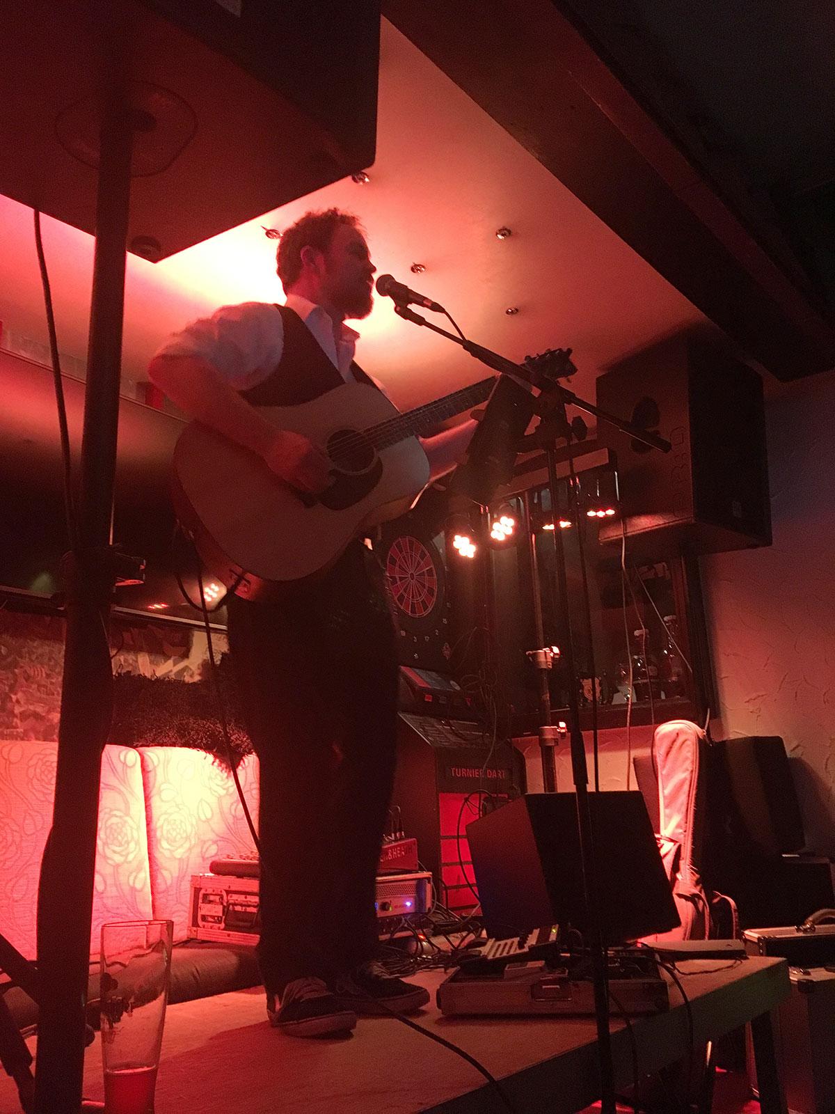 Daniel Gardiner bei Kreuzviertel Live März 2018