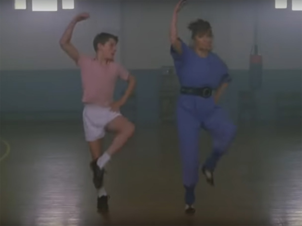 Ausschnitt aus Youtube-Video Billy Elliot I will dance