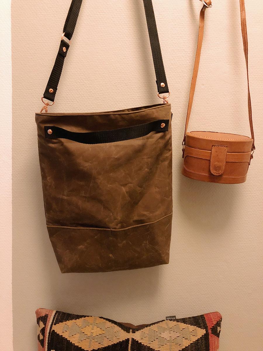 Tasche Nine aus Oilcloth von Snaply.de