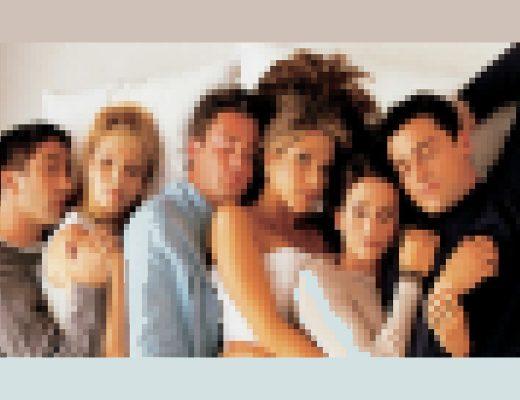 """Verpixelter Ausschnitt aus der Serie """"Friends"""""""